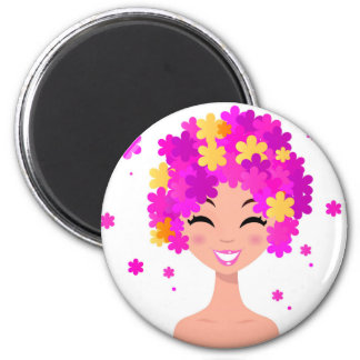 WELLNESS COSMETIC pink girl Magnet