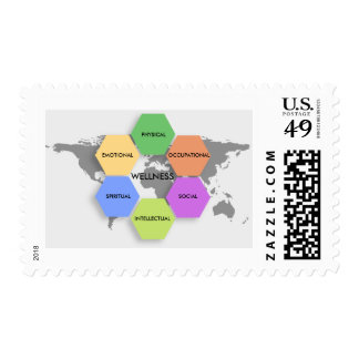 Wellness Dimensions Postage