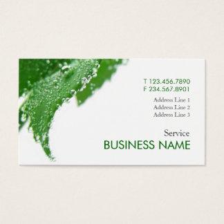 Wellness Fresh Care Business Card Template