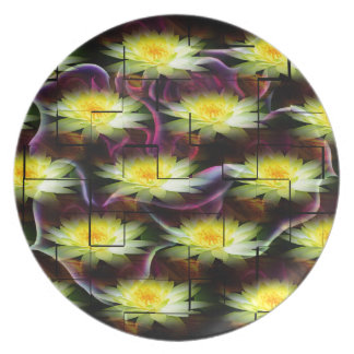 Wellness Water Lily Party Plates