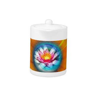 Wellness Water Lily - Sunflower Teapot