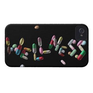 'WELLNESS' written with pills iPhone 4 Case