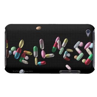 'WELLNESS' written with pills iPod Case-Mate Case