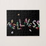 'WELLNESS' written with pills Jigsaw Puzzle