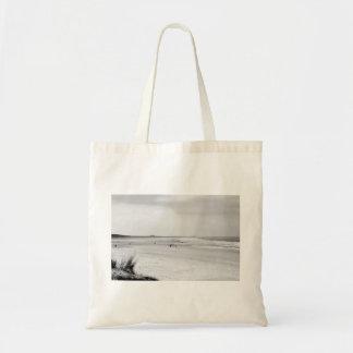 Wells Beach Tote Bags