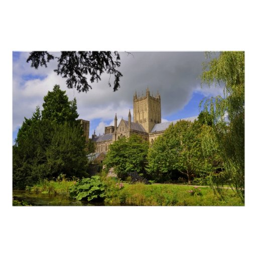 Wells Cathedral Print