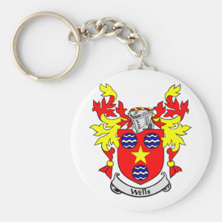 WELLS Coat of Arms Keychain