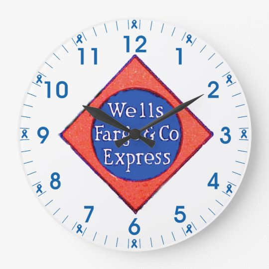 Wells Fargo & Company Express Wall Clock