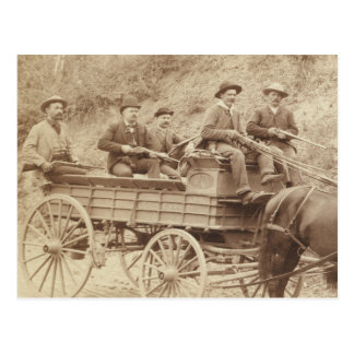 Wells Fargo Express Postcard