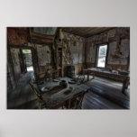 Wells Hotel Dining Room - Garnet Ghost Town Print