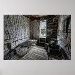 Wells Hotel Room 2 - Garnet Ghost Town - Montana Posters