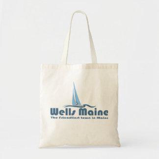 Wells Maine. Budget Tote Bag