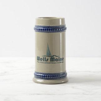 Wells Maine. Beer Stein