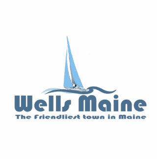 Wells Maine. Cutout