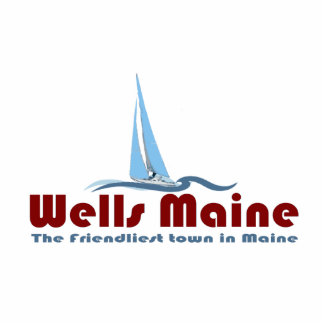 Wells Maine. Acrylic Cut Out