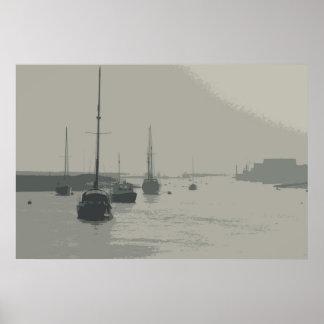 WELLS-NEXT-THE-SEA    NORFOLK UK POSTER