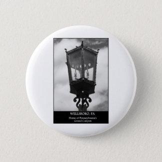 Wellsboro, PA  Home of Pennsylvania's Grand Canyon Pinback Button