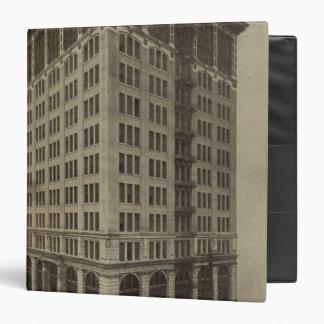WellsFargo Bldg, Portland, Oregon Vinyl Binder