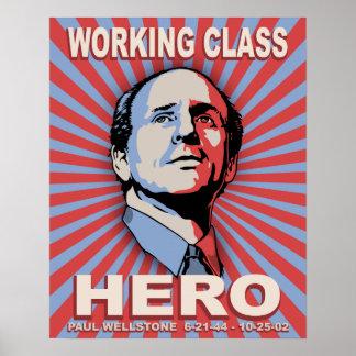 Wellstone Hero Poster
