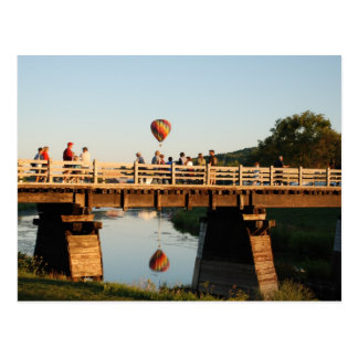 Wellsville Balloon Rally 1 Postcard