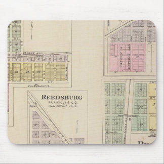Wellsville, Emmerson, Reedsburg, Princeton, Kansas Mouse Pad