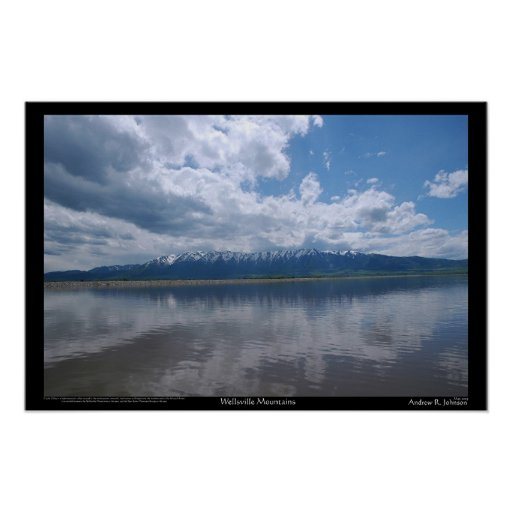 Wellsville Mountains Posters
