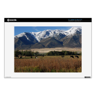"""Wellsville Mountains Decals For 13"""" Laptops"""