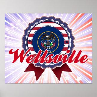 Wellsville, UT Print