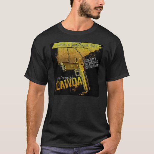 welome to flawda t-shirt