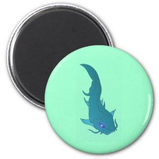 Wels catfish 2 inch round magnet