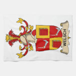 Welsch Family Crest Towels
