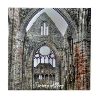 Welsh Abbey at Tintern, Wye Valley, Wales Tile