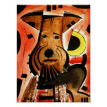 Welsh/ Airedale Terrier  dk_2005aug8d Poster