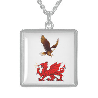 Welsh - American Neckwear Sterling Silver Necklace
