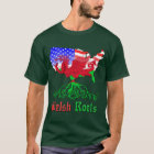 Welsh American Roots T-Shirt Crys T