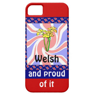 Welsh and proud of it iPhone 5 case