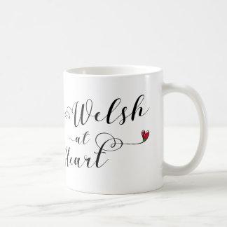 Welsh At Heart Mug, Wales Coffee Mug