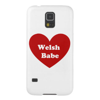 Welsh Babe Galaxy S5 Cover