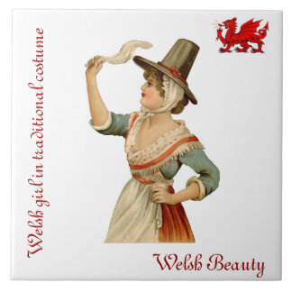 Welsh Beauty Collector's Tile