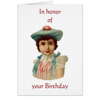 Welsh Bi-lingual Birthday Greeting Card