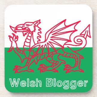 Welsh Blogger Beverage Coaster