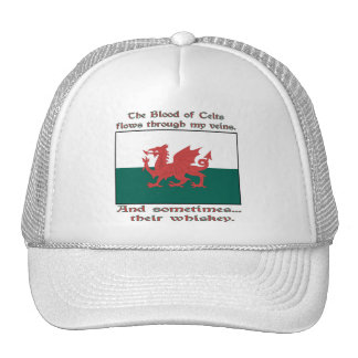 Welsh Blood and Whiskey Trucker Hat