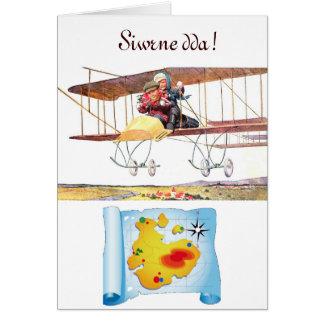 Welsh Bon Voyage Greeting Greeting Card