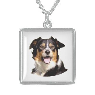 Welsh Border Collie Neckwear Sterling Silver Necklace
