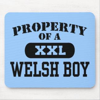 Welsh Boy Mouse Pad