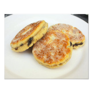 welsh cakes 4.25x5.5 paper invitation card