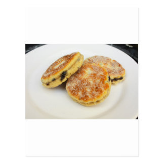 welsh cakes postcard