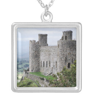 WELSH CASTLES SILVER PLATED NECKLACE