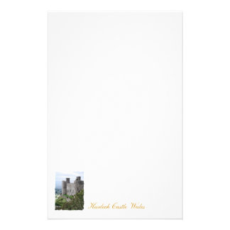 WELSH CASTLES CUSTOMIZED STATIONERY