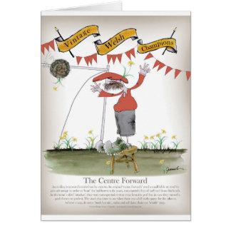welsh centre forward card